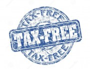 Tax Free Stamp
