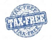 Tax Free Stamp