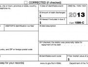 IRS Form 1099-C