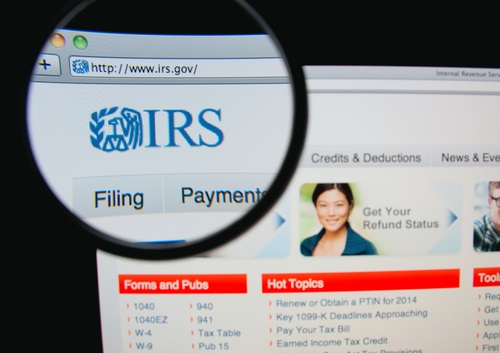 IRS-website