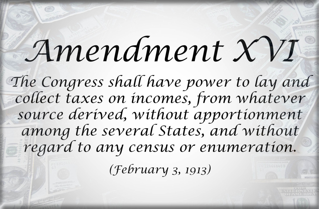 16th ammendment